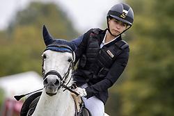 Van Loy Kaat, BEL, New Princess van het Rozendaelhof<br /> Nationaal Kampioenschap LRV Ponies <br /> Lummen 2020<br /> © Hippo Foto - Dirk Caremans<br /> 27/09/2020