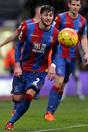 Joel Ward of Crystal Palace in action. Barclays Premier League match, Crystal Palace v Chelsea at Selhurst Park in London on Sunday 3rd Jan 2016. pic by John Patrick Fletcher, Andrew Orchard sports photography.