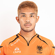 THAILAND - JUNE 24: Kritsananon Srisuwan #19 of Ratchaburi Mitr Phol FC on June 24, 2019.<br /> .<br /> .<br /> .<br /> (Photo by: Naratip Golf Srisupab/SEALs Sports Images/MB Media Solutions)