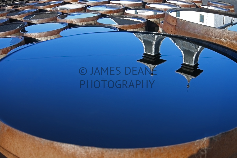 Ardbeg Distillery clearly reflected on a cold Winter morning.One of my very first photographs from my first visit to Islay in February 2010
