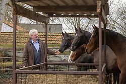 Van der Aa Willy, jaarlingen van Ferdeaux en For Ferrero<br /> Stal Willy Van der Aa - Vinkel 2021<br /> © Hippo Foto - Dirk Caremans<br /> 17/03/2021