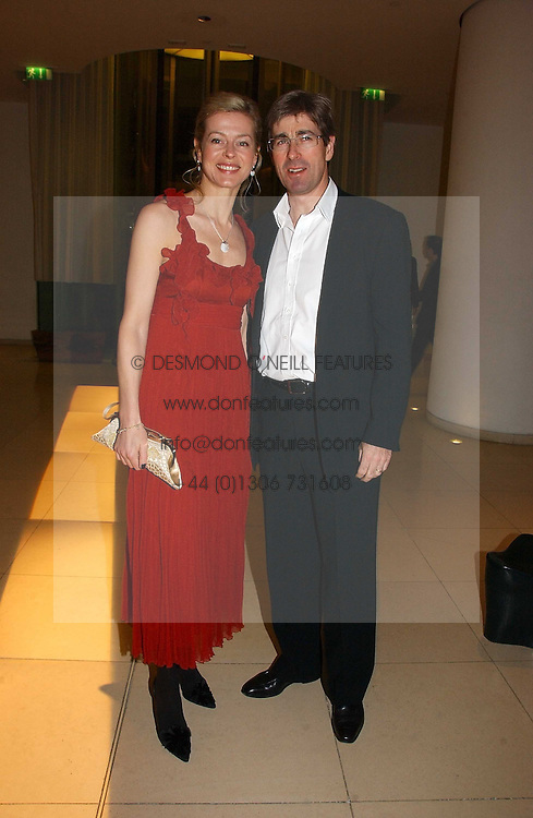 MR TIM & LADY HELEN TAYLOR at a Burns Night dinner in aid of CLIC Sargent and Children's Hospice Association Scotland held at St.Martin's Lane Hotel, St.Martin's Lane, London on 25th January 2007.<br /><br />NON EXCLUSIVE - WORLD RIGHTS