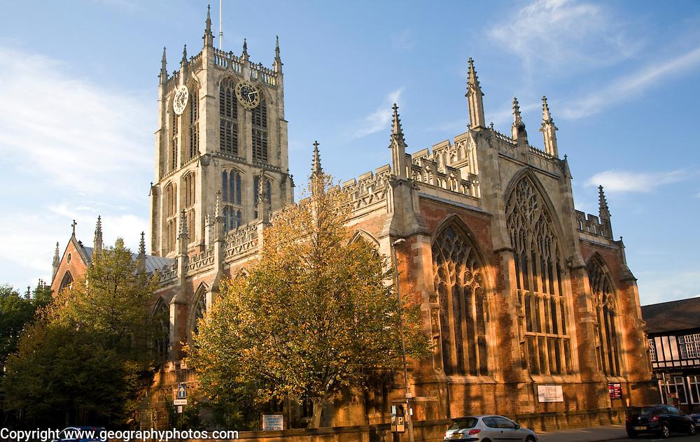 Holy Trinity church, Hull, Yorkshire, England