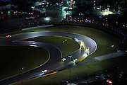 January 26-29, 2017: Rolex Daytona 24. Daytona International Speedway at night during the 55th running of the Rolex 24. Daytona arial view from a cessna plane