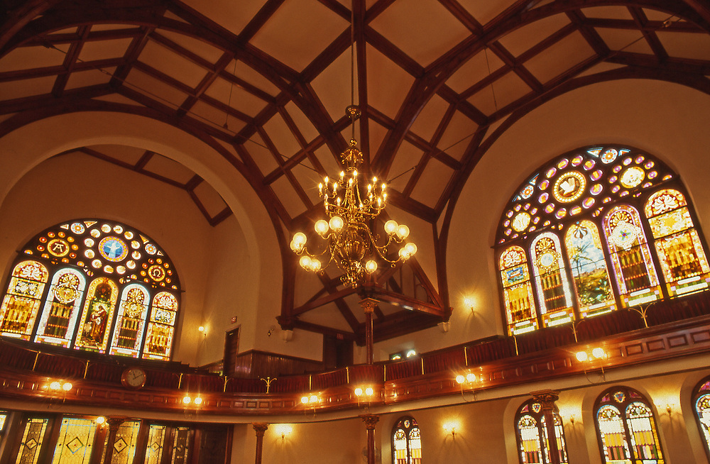 Interior, Historic Mother Bethel African Methodist Episcopal Church, 1794, Richard Allen Minister, Philadelphia, PA