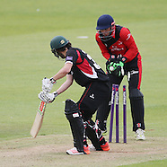 Durham Jets v Leicestershire Foxes 030715