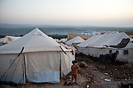 Atmeh refugee camp, for internally displaced Syrians. Around 12,000 IDP now live in the camp. 2/12/2012 Atmeh, Syria. Bradley Secker for the Washington Post
