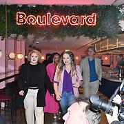 Photocall: 'Hairspray the Musical' with Rita Simons, Paul Merton, Lizzie Bea, Michael Ball and Marisha Wallace at Boulevard Theatre, 18th February 2020, London, UK.