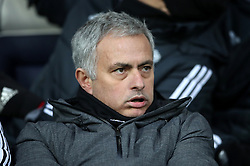 Manchester United manager Jose Mourinho before the Premier League match at The Hawthorns, West Bromwich.