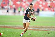 Kazushi Hano (JPN), APRIL 17, 2016 - Rugby : HSBC Sevens World Series, Singapore Sevens match Japan and Russia at National Stadium in Singapore. (Photo by Haruhiko Otsuka/AFLO)