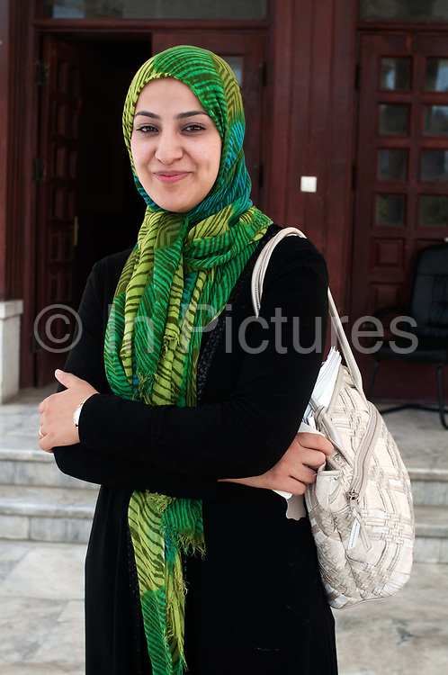 Naheed Farid, 27, from Herat. Afghanistan's youngest MP (Member of Parliament). Kabul, Afghanistan.