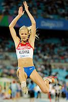 ATHLETICS - IAAF WORLD CHAMPIONSHIPS 2011 - DAEGU (KOR) - DAY 1 - 27/08/2011 - PHOTO : STEPHANE KEMPINAIRE / KMSP / DPPI - <br /> LONG JUMP - WOMEN - QUALIFICATION - DARYA KLISHINA (RUS)