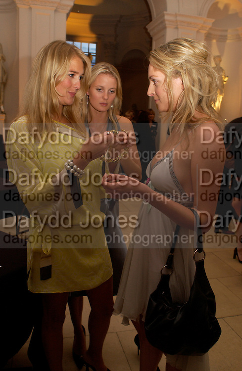 Anita Patrickson and Natalie Burgun,  British Luxury Club, Celebration, the Orangery, Kensington Palace. 16 September 2004. SUPPLIED FOR ONE-TIME USE ONLY-DO NOT ARCHIVE. © Copyright Photograph by Dafydd Jones 66 Stockwell Park Rd. London SW9 0DA Tel 020 7733 0108 www.dafjones.com