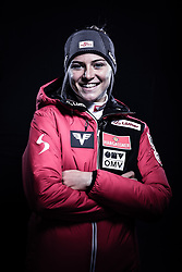 12.10.2019, Olympiahalle, Innsbruck, AUT, FIS Weltcup Ski Alpin, im Bild Marita Kramer // during Outfitting of the Ski Austria Winter Collection and the official Austrian Ski Federation 2019/ 2020 Portrait Session at the Olympiahalle in Innsbruck, Austria on 2019/10/12. EXPA Pictures © 2020, PhotoCredit: EXPA/ JFK