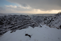 Gorge At Sagmosavank Monastery