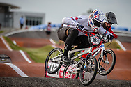 #164 (ISIDORE Quillan) GBR [Pure] at Round 8 of the 2019 UCI BMX Supercross World Cup in Rock Hill, USA