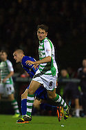 Edward Upson of Yeovil Town during the Skybet Championship match, Yeovil Town v Leicester City at Huish Park Stadium in Yeovil on Tuesday 1st October 2013. Picture by Sophie Elbourn, Andrew Orchard Sports Photography,