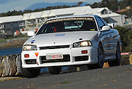 #820 -Carey Fraser & Glenn Heap -1998 Nissan Skyline GTt.Prologue.George Town.Targa Tasmania 2010.27th of April 2010.(C) Joel Strickland Photographics.Use information: This image is intended for Editorial use only (e.g. news or commentary, print or electronic). Any commercial or promotional use requires additional clearance.