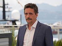 Director Kleber Mendonça Filho at the Aquarius film photo call at the 69th Cannes Film Festival Wednesday 18th May 2016, Cannes, France. Photography: Doreen Kennedy