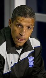 03.11.2011, St. Andrews Stadion, London, ENG, UEFA EL, Gruppe H, Birmingham City (ENG) vs FC Bruegge (BEL), im Bild Birmingham City's manager Chris Hughton // during UEFA Europa League group H match between Birmingham City (ENG) and FC Bruegge (BEL) at St. Andrews , London, United Kingdom on 03/11/2011. EXPA Pictures © 2011, PhotoCredit: EXPA/ Propaganda Photo/ David Rawcliff +++++ ATTENTION - OUT OF ENGLAND/GBR+++++