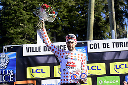 March 16, 2019 - Col De Turini, France - DE GENDT Thomas (BEL) of LOTTO SOUDAL pictured with the polka dot jersey during stage 7 of the 2019 Paris - Nice cycling race with start in Nice and finish in Col de Turini  on March 16, 2019 in Col De Turini, France, (Credit Image: © Panoramic via ZUMA Press)