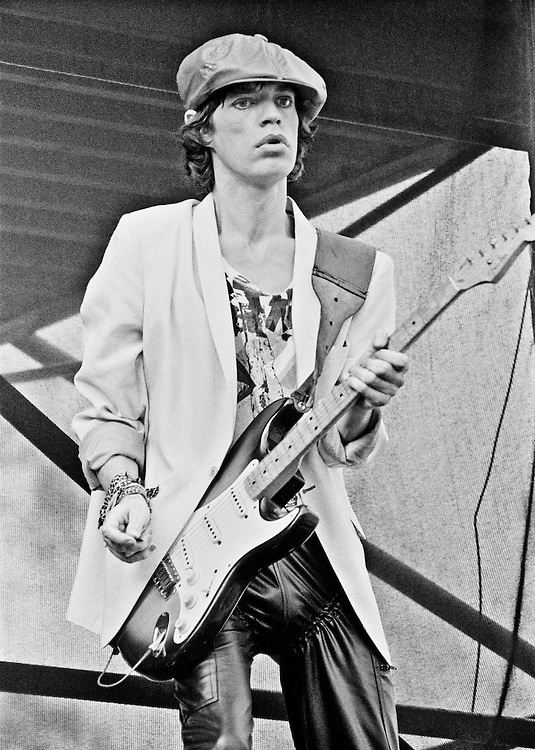 Limited Edition of 35 Includes All Sizes<br /> Mick plays guitar at Folsom Stadium in Boulder Colorado in 1978