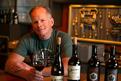Jim Denham, the owner and wine buyer of The Wine Steward, which was voted Best Wine/Liquor Store in the Bay Area News Group's Best in the East Bay poll, poses for a photograph in the shop, Wednesday, March 17, 2021 in Pleasanton, Calif. (Photo by D. Ross Cameron)