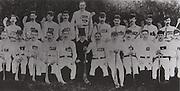 Cork (Aghabullogue)- All Ireland Champions 1890. Back row: J Buckley, D Lenihan, D Looney, D Drew, D Lane (capt), J Henchion, J O'Connor, T Twomey, M Horgan, P Buckley. Front Row: P O'Riordan, J O'Reilly, T Kelleher, D O' Sullivan, T Good, Rev A O'Riordan, D Horgan, E O'Reilly, J Linehan, J Kelleher, P O'Riordan.