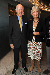ADMIRAL SIR JOHN & LADY TREACHER at the Lady Taverners Tribute Lunch in honour of Nicholas Parsons held at The Dorchester, Park Lane, London on 20th November 2009.