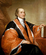 Gilbert Stuart (artist) American, 1755 - 1828. John Jay, 1794 oil on canvas. Judge John Jay painted by Gilbert Stuart first Chief Justice of the United States from 1789 to 1795