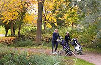 NUMANSDORP - van hole 6 naar 7 .  Golfclub Cromstrijen. COPYRIGHT KOEN SUYK
