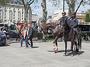 Mounted Police,  Madrid, Spain