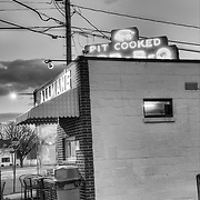 Allman's pit barbeque in Fredericksburg, Virginia.