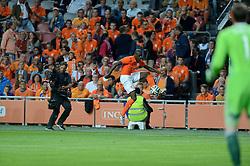 04-06-2014 NED: Vriendschappelijk Nederland - Wales, Amsterdam<br /> Nederland wint met 2-0 van Wales /