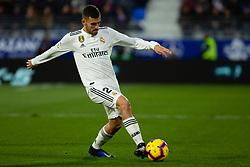 December 9, 2018 - Huesca, Aragon, Spain - Ceballos of Real Madrid (24) during the LaLiga match between SD Huesca and Real Madrid at El Alcoraz. (Credit Image: © Daniel Marzo/Pacific Press via ZUMA Wire)