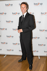 © Licensed to London News Pictures. 04/05/2017. LONDON, UK. JONATHAN (Jonny) WILKES, singer and TV presenter attends The City Dinner fundraising event for the charity, 'Back Up Trust' at the Marchant Taylor's Hall. 'Back Up Trust' work to inspire independence in people affected by spinal cord injury and help them get the most from their lives, working with people of all ages, from young children to the elderly.  Photo credit: Vickie Flores/LNP