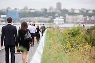High Line Rail Yards Opening