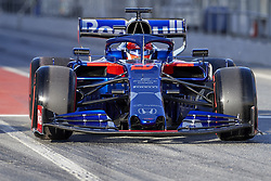 February 18, 2019 - Spain - Daniil Kvyat (Red Bull Toro Rosso Honda) seen in action during the winter test days at the Circuit de Catalunya in Montmelo  (Credit Image: © Fernando Pidal/SOPA Images via ZUMA Wire)