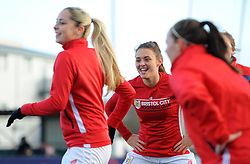 Ella Rutherford of Bristol City warms up - Mandatory by-line: Nizaam Jones/JMP - 27/01/2019 - FOOTBALL - Stoke Gifford Stadium - Bristol, England - Bristol City Women v Yeovil Town Ladies- FA Women's Super League 1