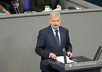 DEU, Deutschland, Germany, Berlin, 29.01.2021: Prof. Dr. Lothar Maier (AfD) in der Plenarsitzung im Deutschen Bundestag.