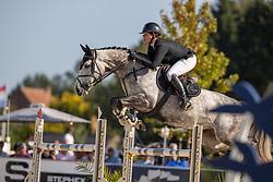 De Laet Caroline, BEL, Ola Kala de Regor<br /> Belgisch Kampioenschap 7 jarige springpaarden - Oudsbergen 2021<br /> © Hippo Foto - Dirk Caremans<br /> 15/08/2021