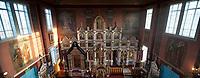 Wies Puchly, woj podlaskie, 13.03.2011. Drewniana Cerkiew pw Opieki Matki Bozej z 1913 roku fot Michal Kosc / AGENCJA WSCHOD