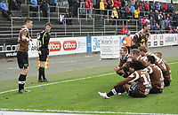 Seriekamp 1. Divisjon.<br /> 26.10.2014<br /> Bryne v Mjøndalen<br /> <br /> Foto. Simon Rogers, Digitalsport.<br /> <br /> Bryne.<br /> Mjøndalen. Christian Gauseth.