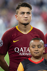 September 19, 2018 - Madrid, Spain - A.S. Roma Cengiz Under  during UEFA Champions League match between Real Madrid and A.S.Roma at Santiago Bernabeu Stadium in Madrid, Spain. September 19, 2018. (Credit Image: © Coolmedia/NurPhoto/ZUMA Press)