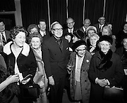 American comedian Jack Benny entertains senior citizens at the Gaiety theatre. Benny had a hugely successful career on radio and television. He was also a talented violinist but his TV character pretended to be hopeless at playing the instrument.<br /> 05/03/1970