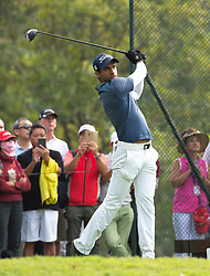 November 24, 2018 - Hong Kong, Hong Kong SAR, CHINA - Honma Hong Kong Open Golf 2018 at Hong Kong Golf Club Fanling. Rai on the 11th tee.Englishman Aaron Rai holds onto his clear lead in day 3 of the tournament. After breaking the course record in the last round Rai remains steady and clear of Englands Matthew Fitzpatrick and South Koreas Hyowon Park. (Credit Image: © Jayne Russell/ZUMA Wire)