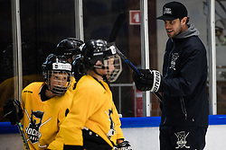 Anze Kopitar during Anze Kopitar's ice hockey academy in Sport hall Bled, 2nd July, 2020, Bled, Slovenia. Photo by Grega Valancic / Sportida