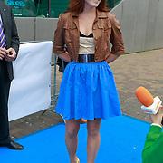 NLD/Amsterdam/20110731 - Premiere film De Smurfen, Kim Lian van der Meij