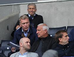 Manager David Moyes in the stand - Mandatory by-line: Jack Phillips/JMP - 06/08/2017 - FOOTBALL - Macron Stadium - Bolton, England - Bolton Wanderers v Leeds United - English Football League Championship