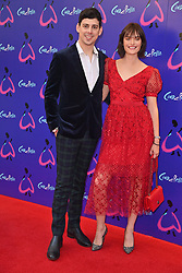 © Licensed to London News Pictures. 25/08/2021. London, UK. SAM ROLLINSON arrives for the gala performance of Andrew Lloyd Webber's Cinderella showing at the Gillian Theatre, Dury Lane. Photo credit: Ray Tang/LNP